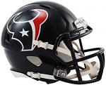 Houston Texas Riddell Mini Helmet