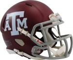 Texas A&M Riddell Speed Mini Helment